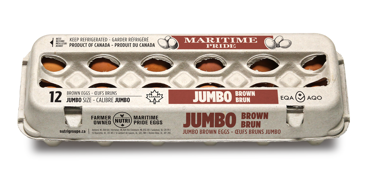 Jumbo Brown Eggs