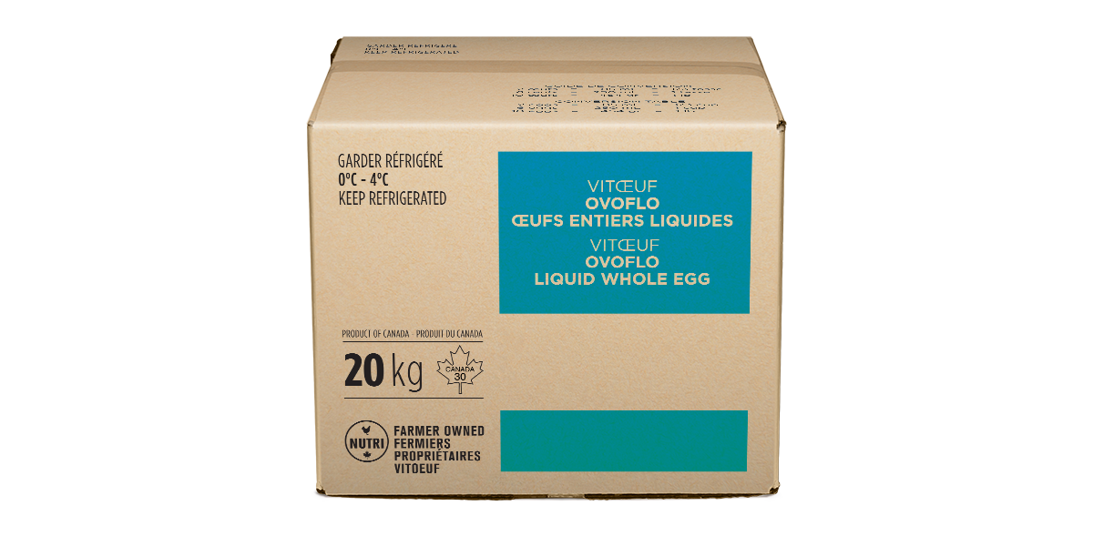 Ovoflo Whole liquid egg
