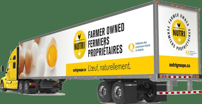 Nutrigroupe Fermiers propriétaires - Flotte de camion