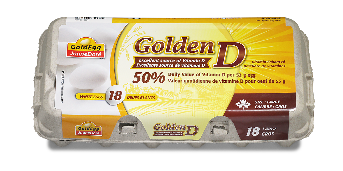 GoldEgg Golden D