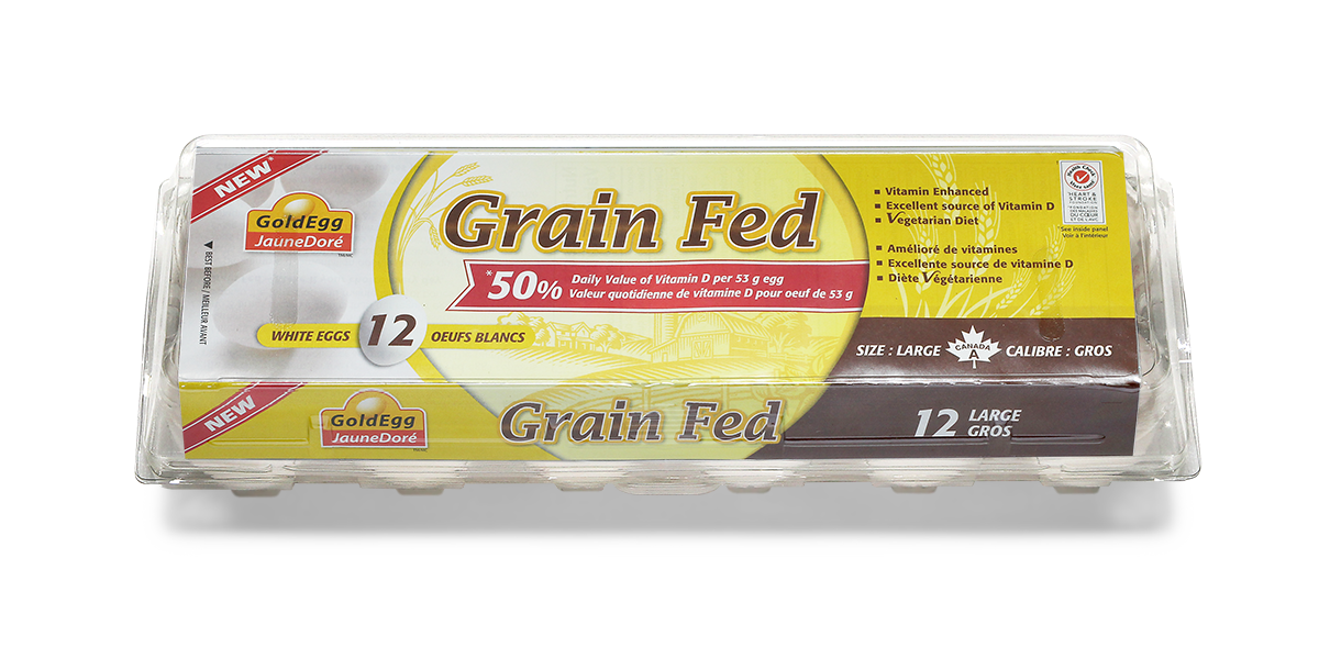 GoldEgg Grain Fed