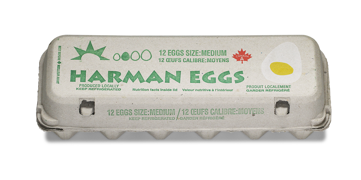 Harman Medium eggs