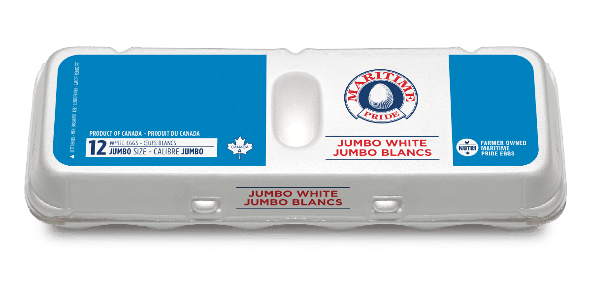 Jumbo White Eggs